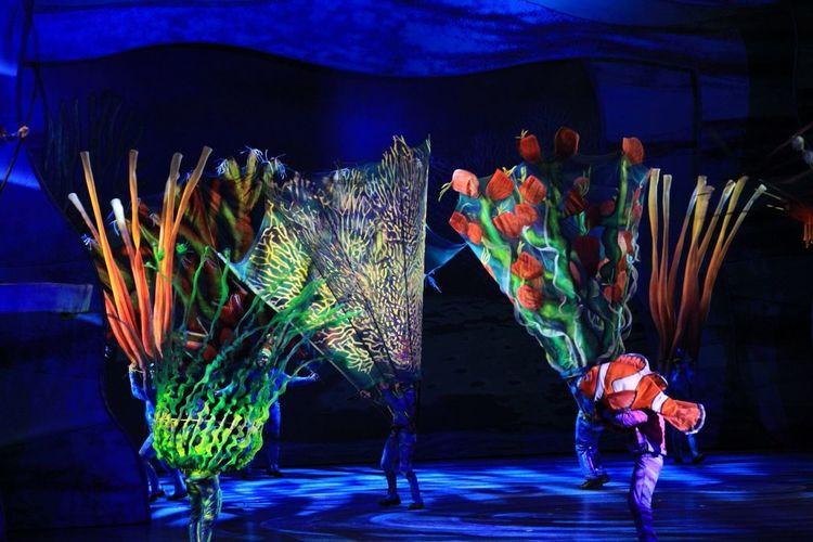 Mydisneyside Sea Life live Nemo show, Animal Kingdom, Walt Disney World, ISO 1600, no flash