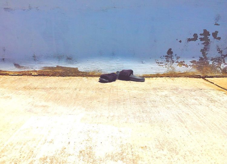 Abandoned shoes Real Life Shoes Water Land Day Nature Sand No People Outdoors Abandoned