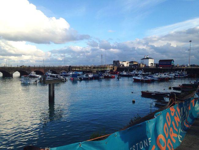 Folkestone's view