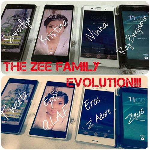 MEET THE ZEE FAMILY EVOLUTION!!! Zseries SonyXperianz SirPaoGPhotos Nameit SweetTWEETZ KristinaEPICOLAF IVinnaEROSZADORE RajBenjaminZEUS