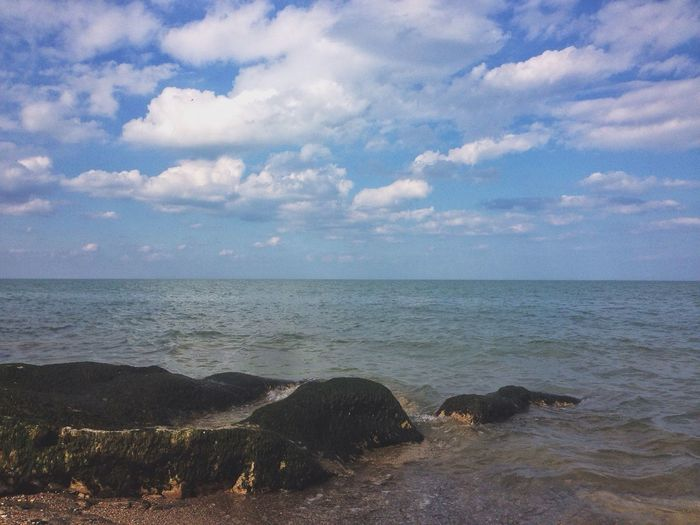 Clouds And Sky Sea And Sky Sea Vscocam Enjoying Life Caspian Sea Landscape