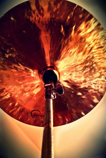 Cymbals Drums Drumlife New Dream Drums! Check This Out Metal China Fire RedEyeEm Pixrl Drumming Hardware RoomLion Hand Made Hammered Hammered Metal Light With Mobile Bronze Budapest, Hungary