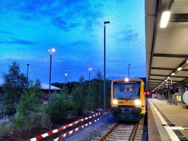 Fplo Public Transportation Relaxing Odeg Eisenbahn