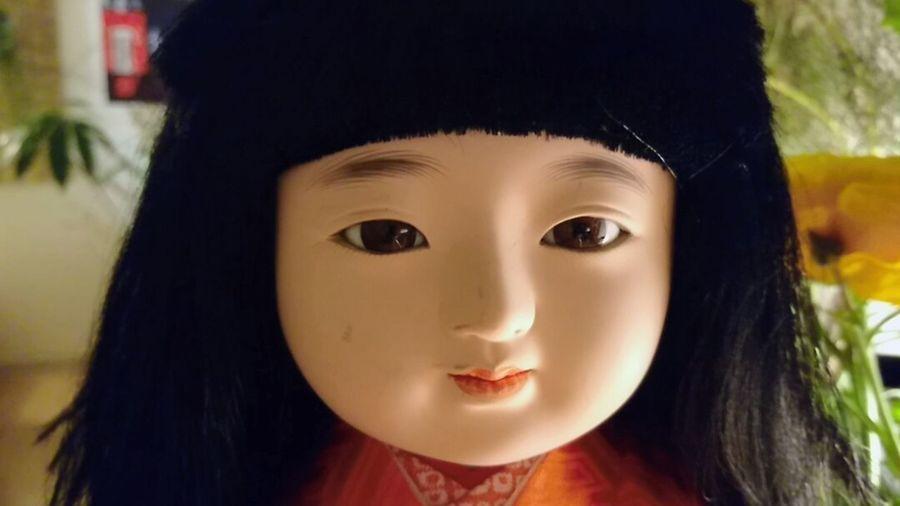 この子は雪音「ゆきね」雪の寒い日にうちに来たから Ichimatsu 市松人形 日本人形 Japanesedoll