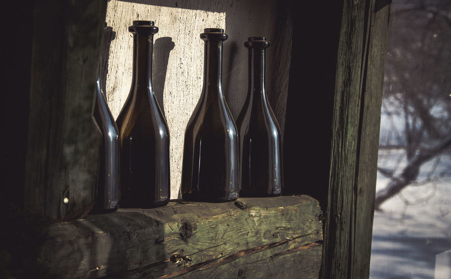 Bottle Bottles Day Glass Glass - Material Glasses Home Interior Indoor Photography IndoorPhotography Indoors  Indoors  Kerber No People Photography