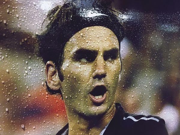 Tennis 🎾 Poster Federer