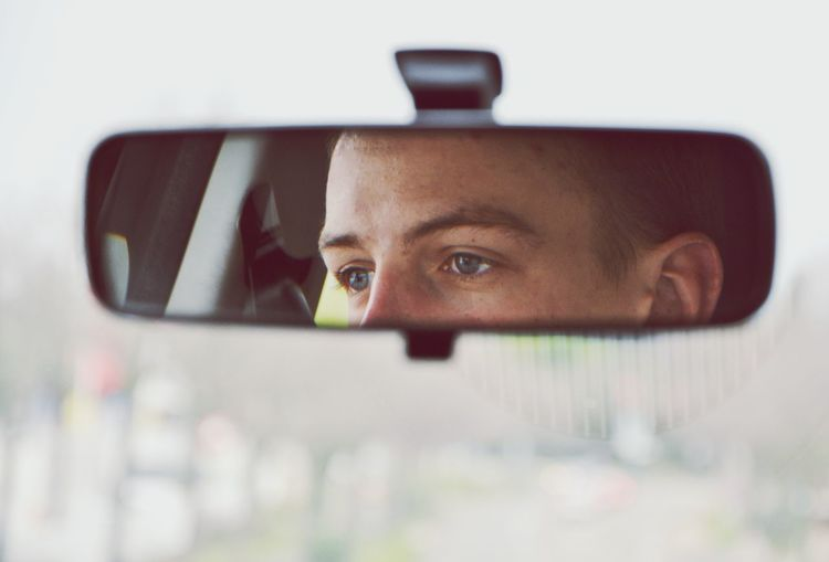 The Portraitist - 2016 EyeEm Awards Portrait Young Adult Close-up Headshot Focus On Foreground Mirror Driver Reflection Mein Automoment The Drive Let's Go. Together.