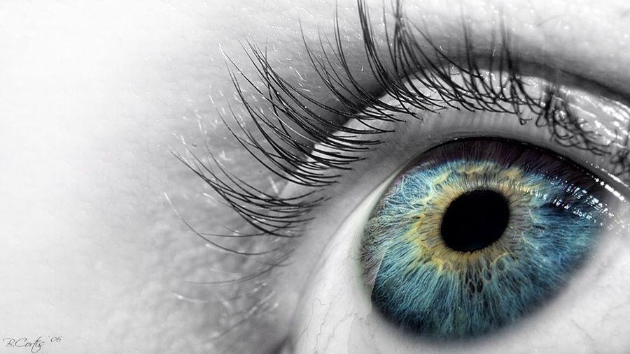Eye Macro Selfie © b.cortis www.cortis.info
