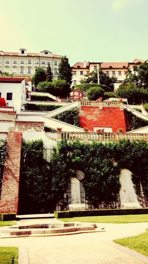 Terraced Gardens Architecture LGG2 Prague