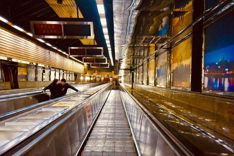 Asia's longest escalator (112m) in Chongqing #sichuan #nikkor24-120mmf4 #NikonD750 #China  #chongqing #asia