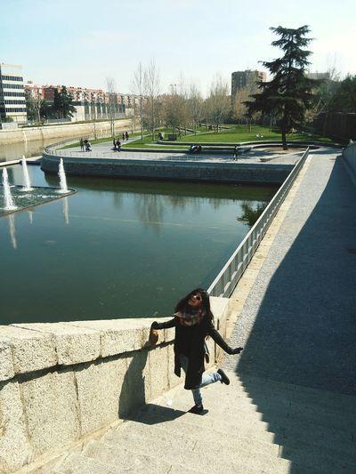 Madrid SPAIN Girl Winter