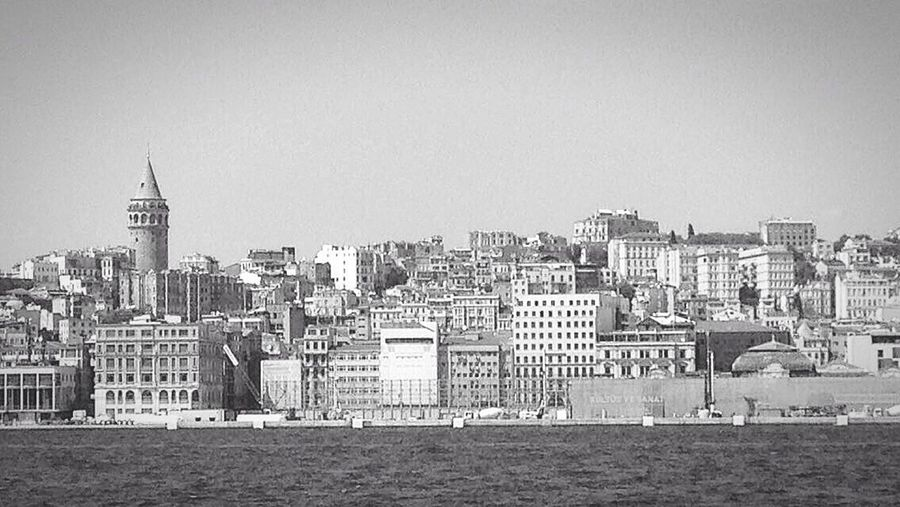 Monochrome Photography Architecture City Waterfront galata tower First Eyeem Photo