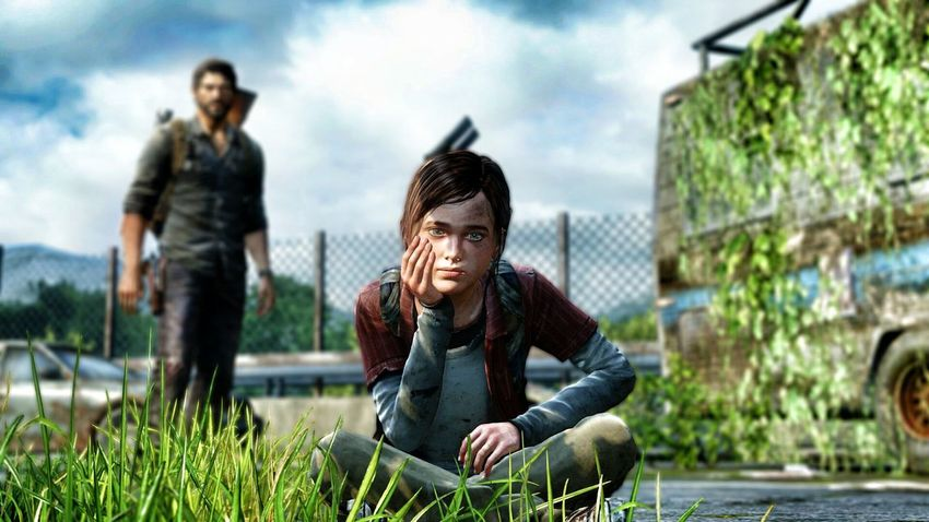 PS4 The Last Of Us Photomode Ellie