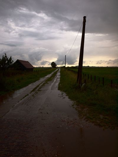 After Rain After The Rain Cloud - Sky Clouds And Sky Landscapes Licht Lichtstimmung Nach Dem Regen ... Nach Dem Sturm Stormy Weather Sunset