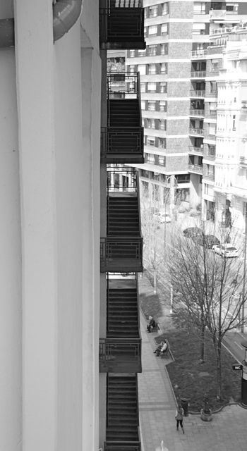 April 2014 Architecture Balcony Building Building Exterior Built Structure City City Life Exterior Glass - Material House In A Row Leading Modern Repetition Residential Structure Shadow Urban Wall Window