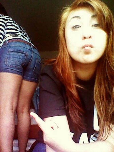 my bestfriends butt though c; lol