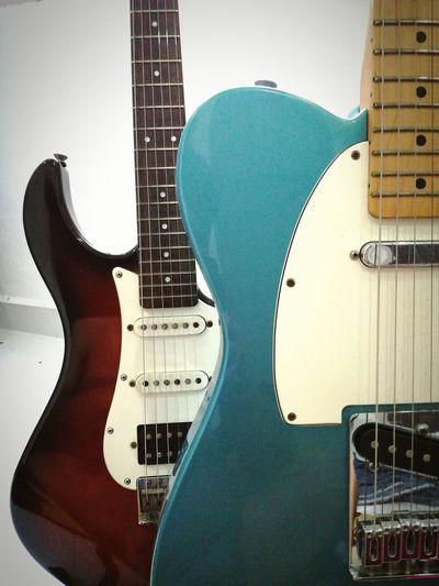 Fender Telecaster Yamaha Guitar Guitarporn Pacifica Sidebyside Music