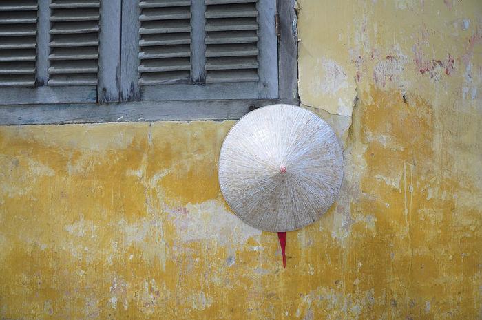 Vietnam Asian  Hood Wall Geometric Shapes Hanoi