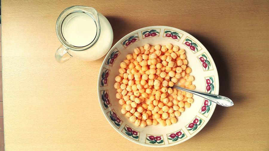 Cereal Breakfast ♥ Jarra Leche Lechera Healty Food Healty Breakfast Desayuno Saludable Milk