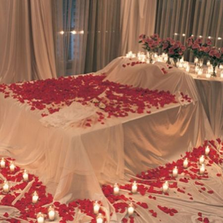 Day 3 : red : one day I want to come home to red rose pedals on my bed and romantic candles everywhere. IT Would Be Nice december photo challenge red rose pedals bed romance romantic pretty cool to happen one day