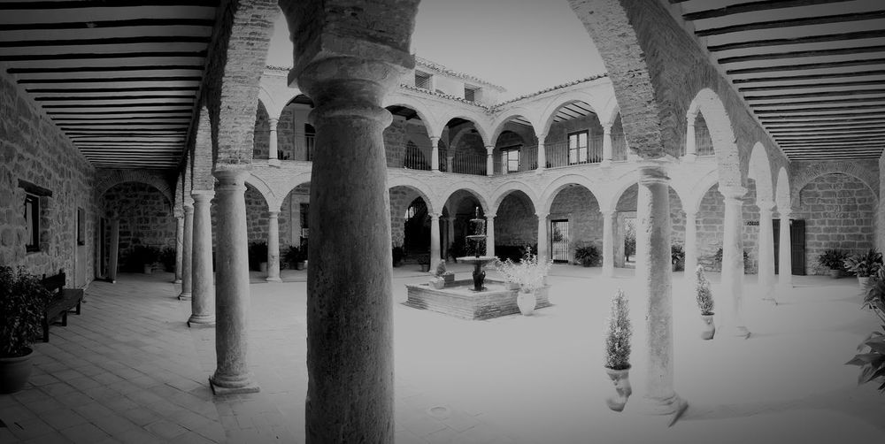 EyeEm Selects Colegiata de Castellar Architectural Column Architecture Arch Built Structure History Travel Destinations Indoors  Day No People Castellar El Condado Jaén