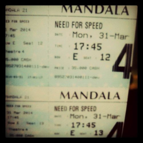 Need For Speed Long Weekend 21 Cineplex  Mandala Instamovie