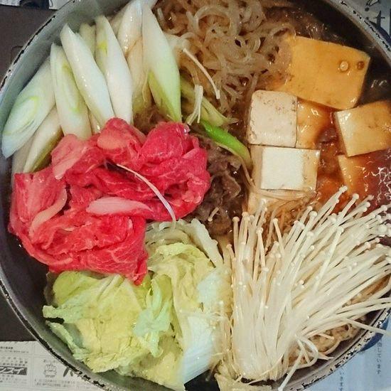今日の我が家の晩御飯シリーズ すき焼き