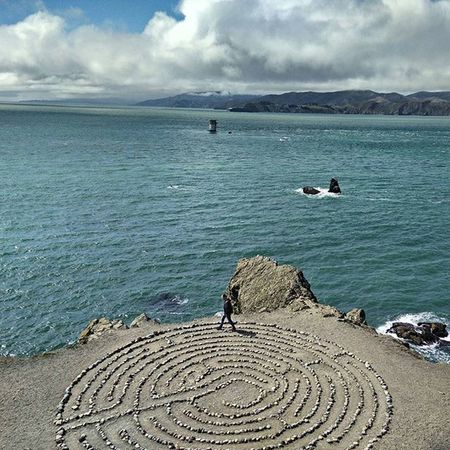 Labyrinth Sanfrancisco SF Eaglespoint LandsEnd USAtrip Oneplusonephotography