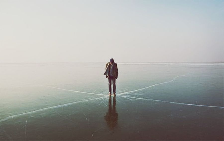Emptiness Pain Split Emotionalwound Ice Suffering VSCO Vscocam