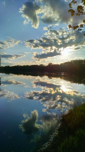 Crow Wing River View Beauty All Around Us Sundown Nature Walk
