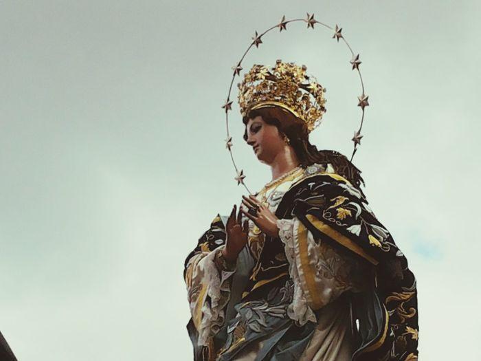 Santamaria Religious  Procesion Guatemala