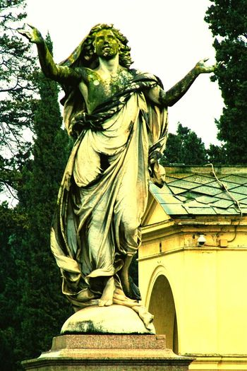 Verano, monumental cemetery. Rest In Peace Eternal Peace Cemetery_shots Cemeterybeauty Historic Cemeteries Cemetery Photography Cemetery Statue Art Sculture