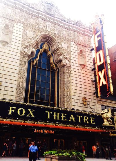 For The Love Of Music Theater Music Concert Jack White  Jack White Travel Crystal Clear Awesome