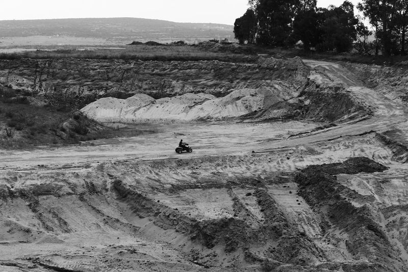 Riding the hole. Blackandwhite Quad Family Enjoying Life Relaxing Nature