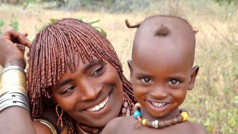 Himba Tribe Tribus Namibia