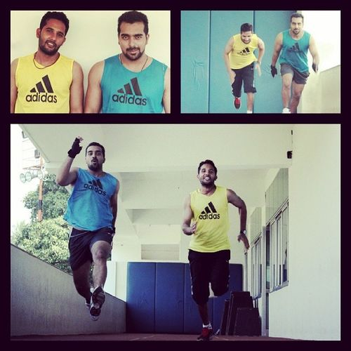 Crazy Jog Sprint Best_run_ever Ashu Gud_friendGood_old_days Gym_memories