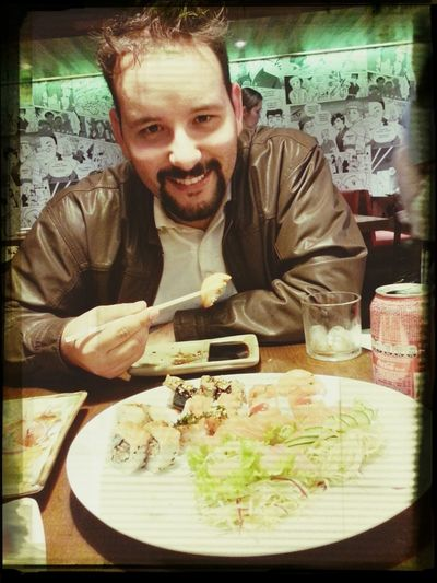 jantarzinho com minha Princesa Sushi