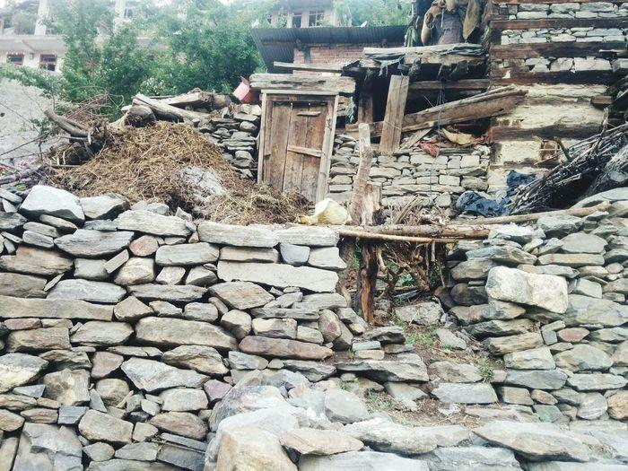 Village Houses of Sangla Valley. Village Sangla