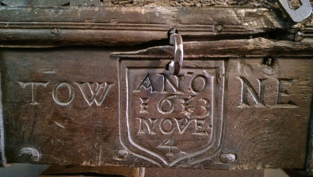 Ages past.. security box 1613 Churches Church Ages Past Historic Carved Carved Wood Oak Ages  Security 1613 Brown For The Love Of History Historical Monuments Hello Darkness My Old Friend What Lies Beneath Inside Buildings Text Western Script Close-up
