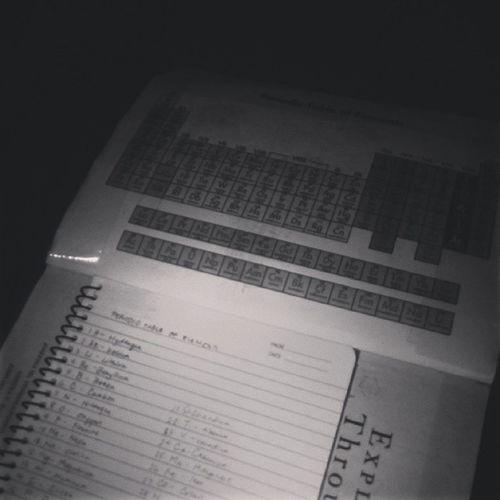 Pagsasaulo ng periodic table. ? IHATEMEMORIES