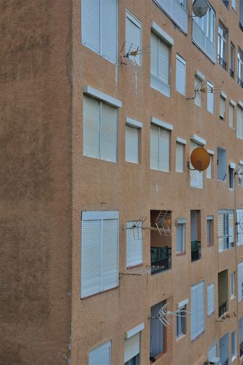 Architecture Day España Full Frame House No People Reddish Residential Building Windows