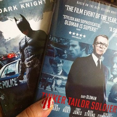 The first to arrive ? TomHardy Film DVD Eth tdkr ttsp
