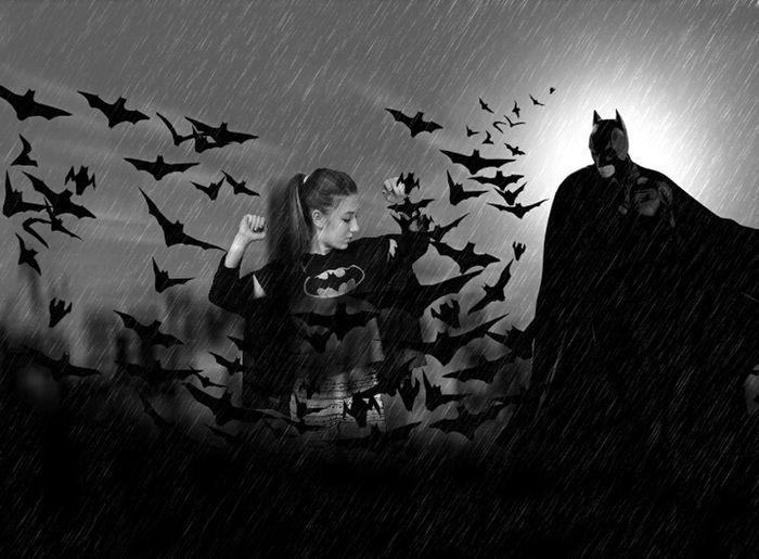 Batman Batgirl Me Modell