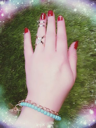 Relaxing Taking Photos Hello World Acsessory Rings Ring Beautiful Fashion My Hand  My Nails