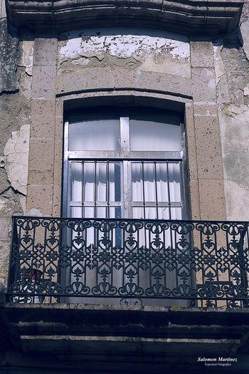 Old Window in