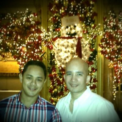 Christmas eve at the Peninsula Ourfirsttime :)