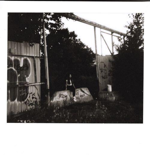Shot on my polaroid Spectra Spectra Polaroid Architecture Building Exterior Street Art Exterior Urban
