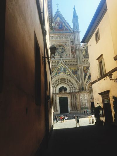 Orvieto, Italy Orvietoumbriaitaly Cathedral Architecture History Terni Umbria, Italy Love Italian Food, People, Nature, Language, Life❤️😍 Eyeem Collection