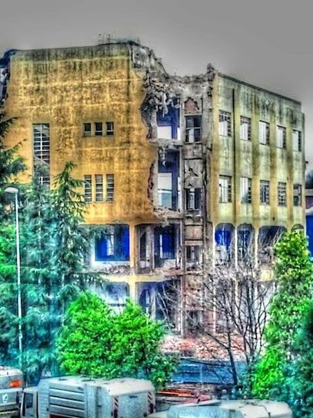 Demolition Zone Building Hdr_Collection