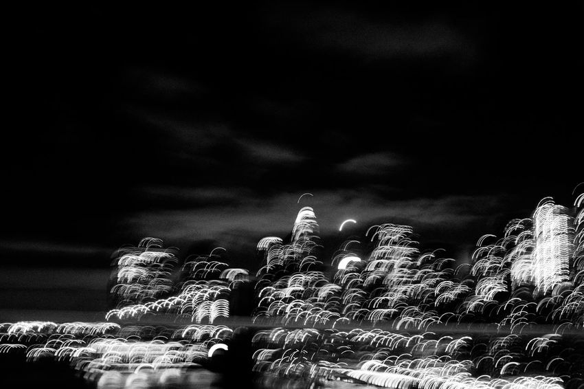 Manhattan Abstract Black Cemetery Close-up Cloud - Sky Low Angle View Nature Night No People Outdoors Sky